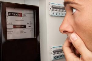 Stromzähler ablesen beim Stromanbieterwechsel